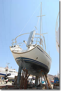 yacht wintering and maintenance