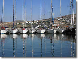 Parikia - Paros island charter base and sailing boat marina