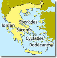 sailing yacht charter ports in Greece