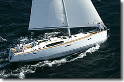 charter an Oeanis 46 sailing yacht