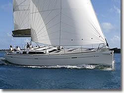 charter a  DUFOUR 525 sailing yacht
